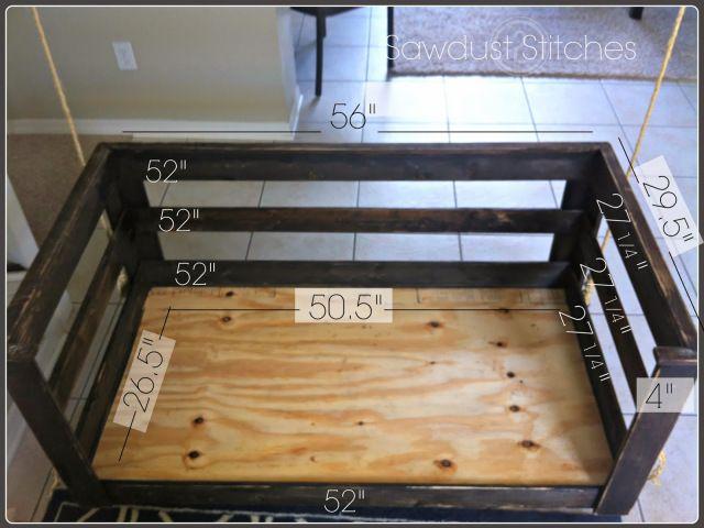 – Crib Mattress Porch Swing