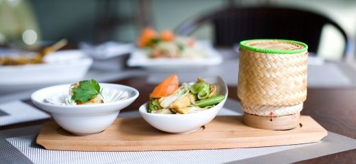 Stunning creations at Thai Brasserie, Enterprise Shopping Centre, http://enterprise-centre.org/shop/thai-brasserie
