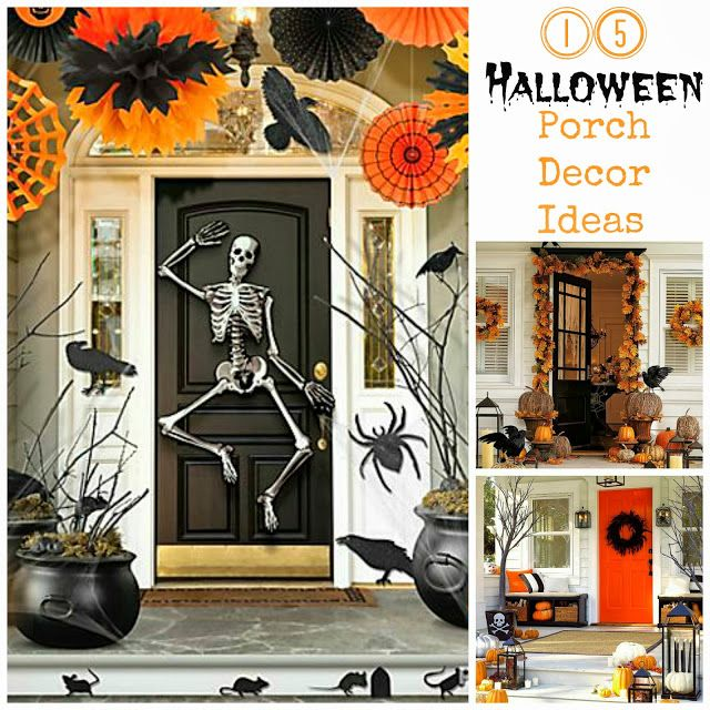 28 best Halloween images on Pinterest Halloween decorating ideas - decorating front porch for halloween