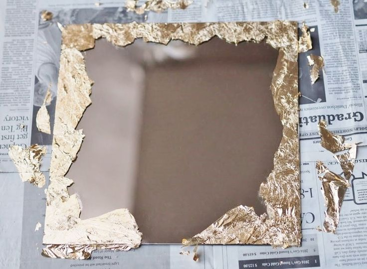 diy anthropologie mirror - Decorate Mirror Frame