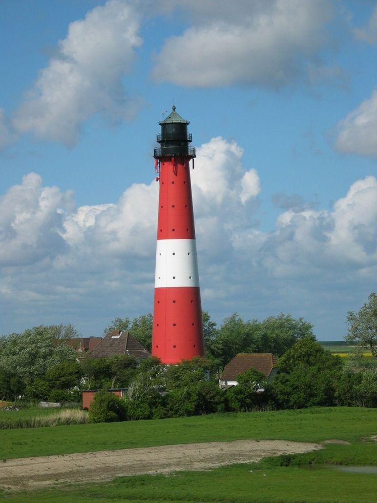 Pälweerm / Pellworm (Schleswig-Holstein, Kreis Nordfriesland) - Leuchtturm