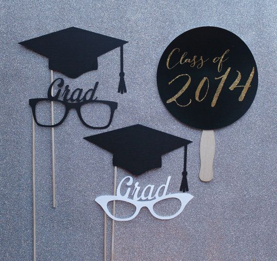 Graduation+Photo+Booth+Prop+Set++++Photobooth+by+LittleRetreats,+$23.25