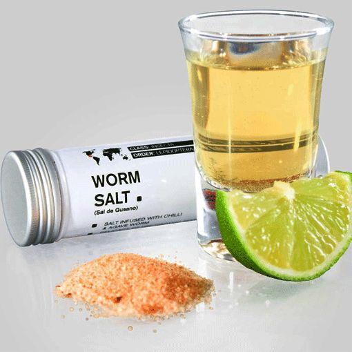 Worm Tequila Salt | Unusual Gifts