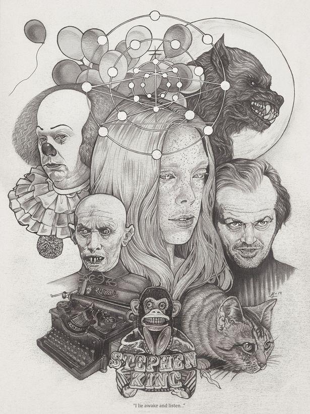 Stephen King Art Exhibition - Design - ShortList Magazine