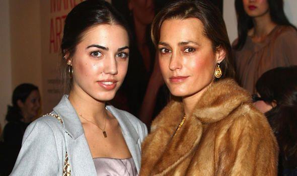 Yasmin Le Bon, mother, and Amber Le Bon, daughter. incroyable...