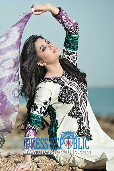 Maria B Lawn 2014 for Women | Lawn Pakistani Dresses 2014 Online  Maria B Lawn 2014 for Women