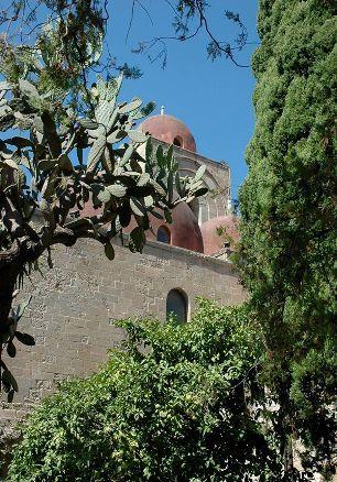 Palermo , veduta San Giovanni Eremiti