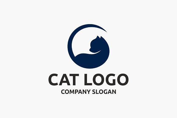 Cat Logo by Brandlogo on @Graphicsauthor