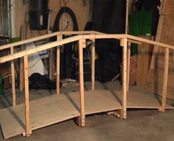 How to Build a Rumble Bridge - If you're looking to add a little excitement to your haunt, or just want to give the trick or treaters a quick startle before sugaring them up for the season, then a rumble bridge might be just what you need. It's a pretty simple project to build and the guys over at CreepyCreations have created a great video detailing how its done.