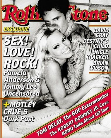Pamela Anderson & Tommy Lee - Rolling Stone (2001 May)