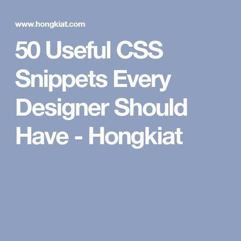 49 best CSS images on Pinterest Design web, Design websites and - best of blueprint css menu
