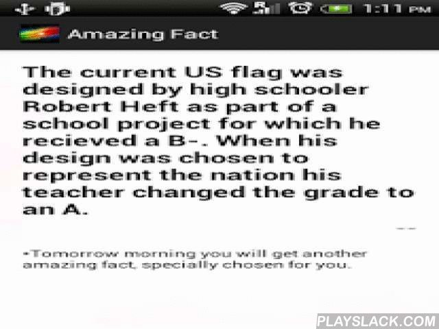 Fun Knowledge & Awesome Facts  Android App - playslack.com , All facts and explanations about interesting science and technology news you will get daily through facts of the day or facts in the world. Get facts that will blow your mind everyday. Amazing & shocking knowledge and power about earth science, animals birds, Oceans etc. We give facts you never knew free about history through brain master app. Get all brain food & brain hack you need to get to champ the brain challenge games…