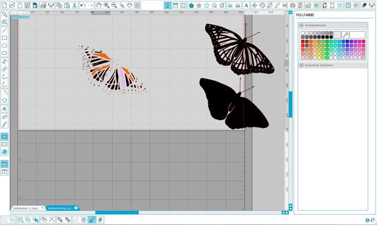 Einfach erklärte Tutorials zum Erlernen der Silhouette Studio Software Silhouette Portrait Silhouette Cameo 2 Silhouette Cameo 3 Silhouette Studio – Anhänger erstellen Bibliothek exportieren/ importieren und das Verwalten von Daten Silhouette Studio – Fotos und Bilder nachzeichnen Silhouette Studio – Dateien bearbeiten mit der Punktebearbeitung Silhouette Studio – Knock-out Technik Silhouette Studio – Entgitterlinien erstellen…