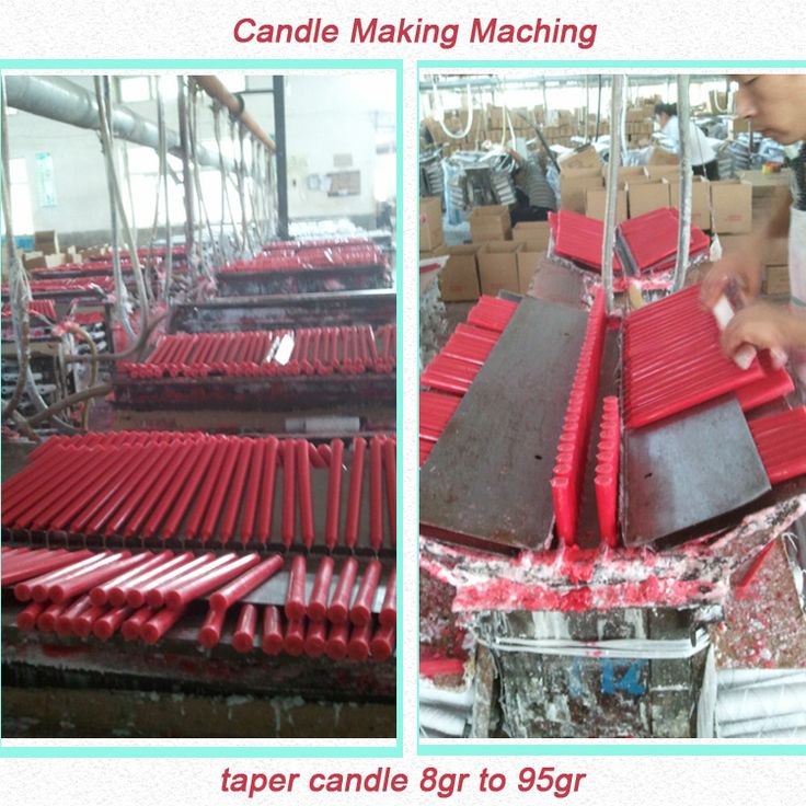 semi-automatic Candle making machine for household plain candles 8gram to 100gram