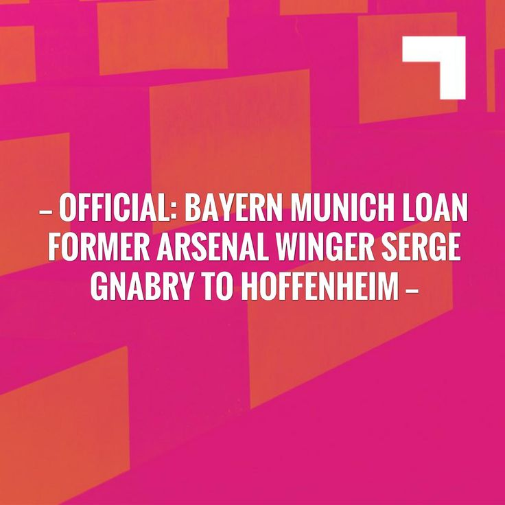 New on my blog! Official: Bayern Munich loan former Arsenal winger Serge Gnabry to Hoffenheim http://sportstribunal.com/bundesliga-news/transfers-bundesliga/official-bayern-munich-loan-former-arsenal-winger-serge-gnabry-to-hoffenheim/?utm_campaign=crowdfire&utm_content=crowdfire&utm_medium=social&utm_source=pinterest