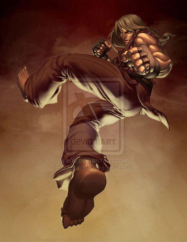 Streetfighter: Ken Masters by ~Markovah on deviantART