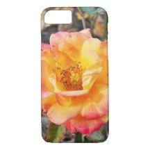 Yellow Tea Rose iPhone 7 Case