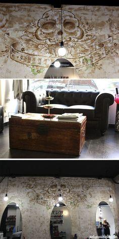 the room 5 peluquería albacete decorada en negro