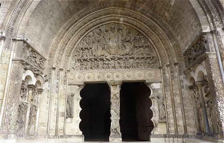 Portail Sud de l'Abbaye Saint Pierre de Moissac