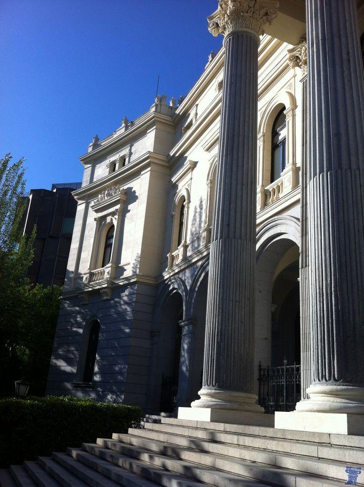 Edificio de la Bolsa. Madrid.