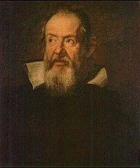 Galileo Galilei, geboren op 15 februari 1564 in Pisa, Italië. Overleden op 8 januari 1642. Galileo levert in 1629 de uitvinding van de telescoop.