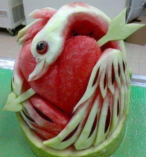 Swan watermelon?
