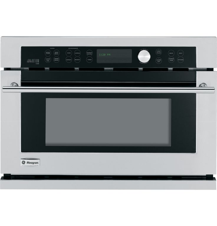 ZSC1001KSS - GE Monogram Built-In Oven with Advantium? Speedcook ...