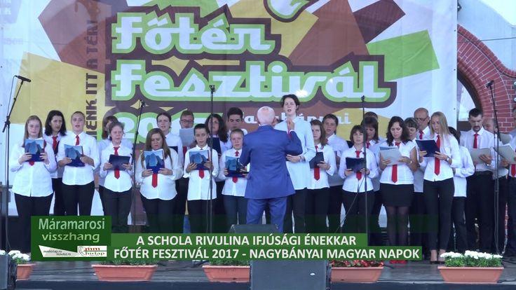 A Schola Rivulina Ifjúsági Énekkar - Főtér Fesztivál 2017, Nagybánya