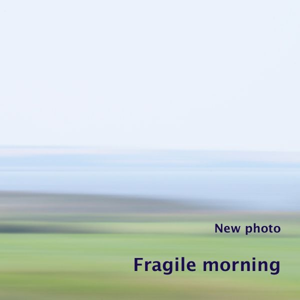 I added a newphoto to the series 'Beyond the horizon', part of the gallery 'Untouched land'. I made this photo 'Fragile morning' a few weeks ago early in the mo…