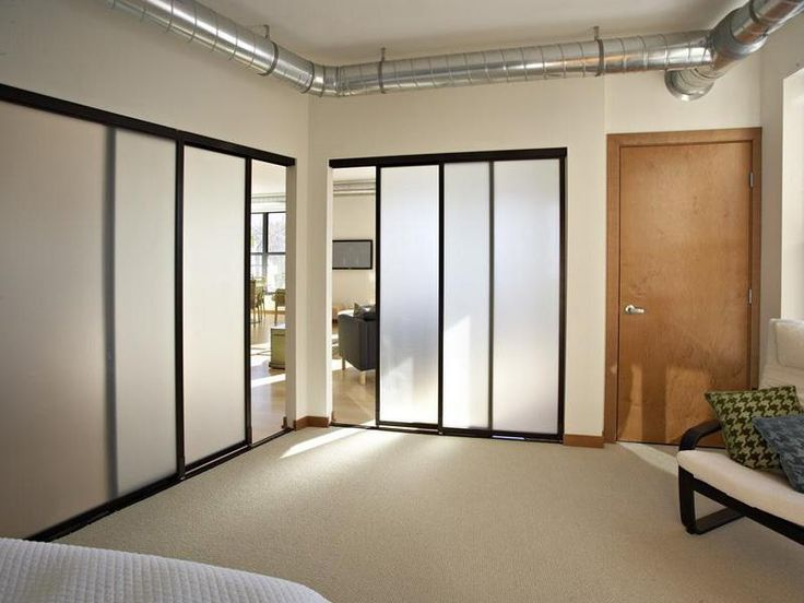 Screen Sliding Door Loft Wall Dividers Ideas