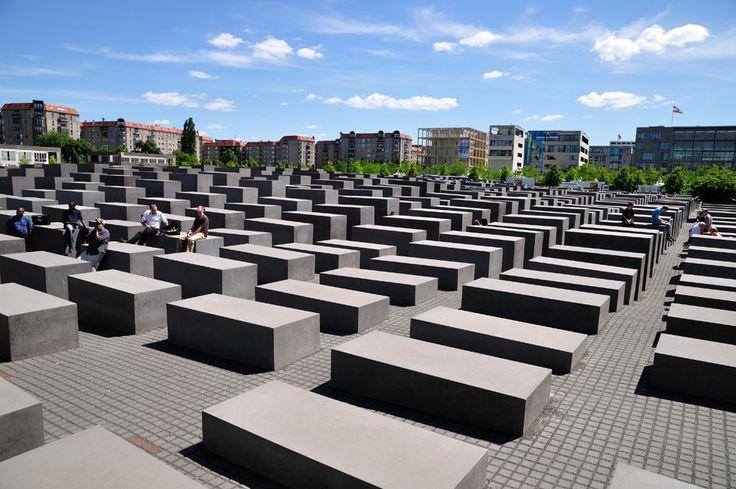 Espectacular monumento al Holocausto nazi en Berlín