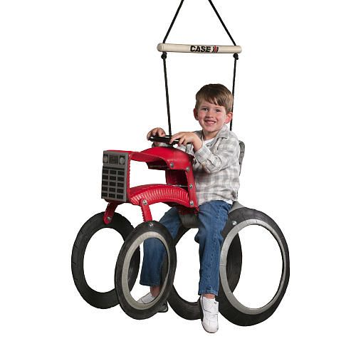 "Case IH Tractor Tire Swing - Red - M&M Sales Enterprises, Inc - Toys ""R"" Us"