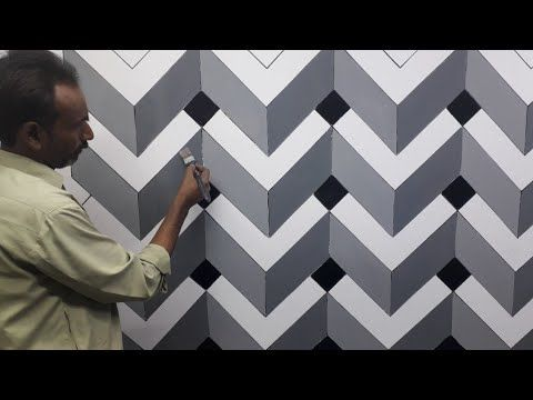 3d Wall Painting 3d Wall Decoration Effect 3d Wall Texture New