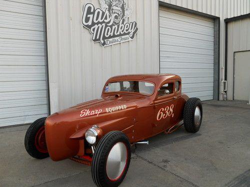 Bonneville racer at gas monkey garage crazy ass monkey for Garage auto bonneville