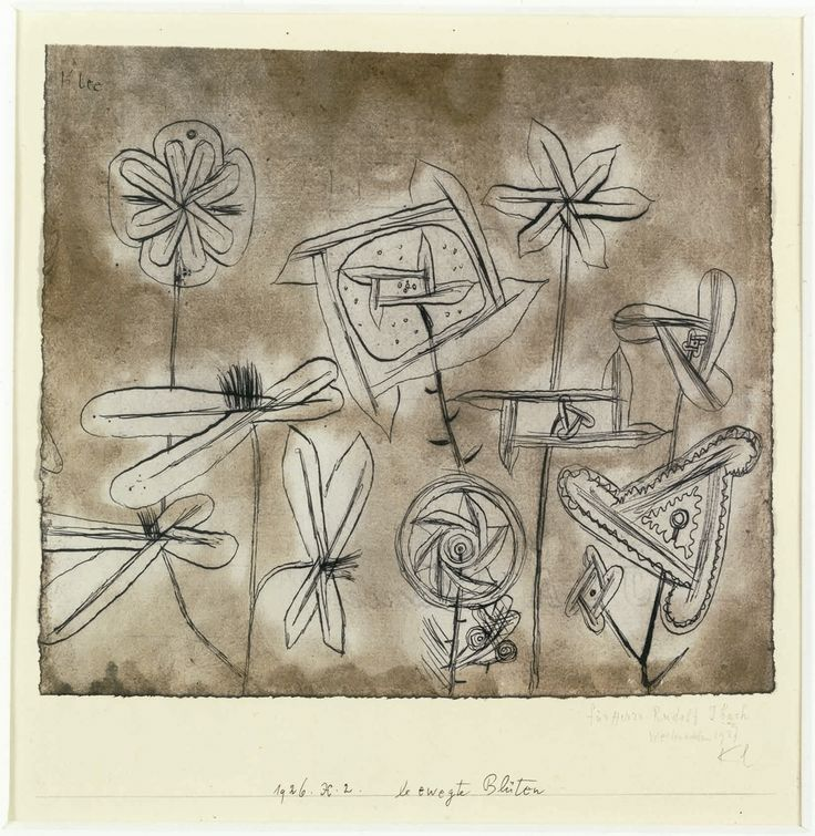 Fancy Paul Klee Swiss Flowers in Motion Bewegte Bl ten