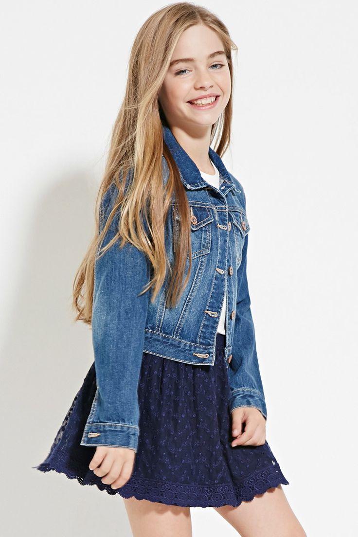 Girls Crochet Lace Skirt (Kids)