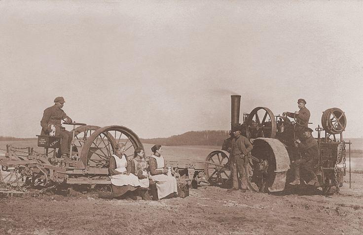 Steam Plough complete