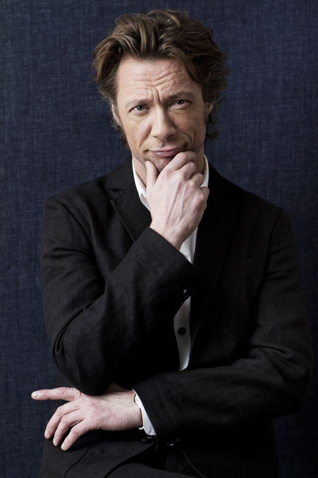 Actor Antti Reini in #FRENN #linen #blazer and #shirt