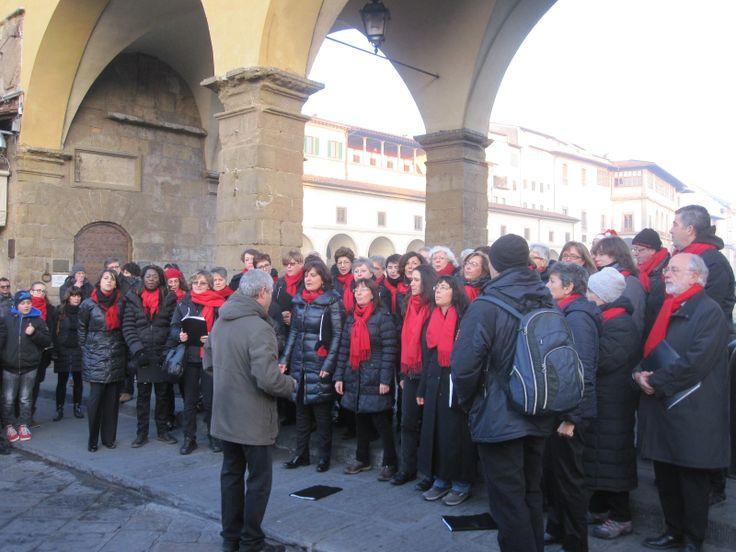 kerstconcert op de Ponte Vecchio