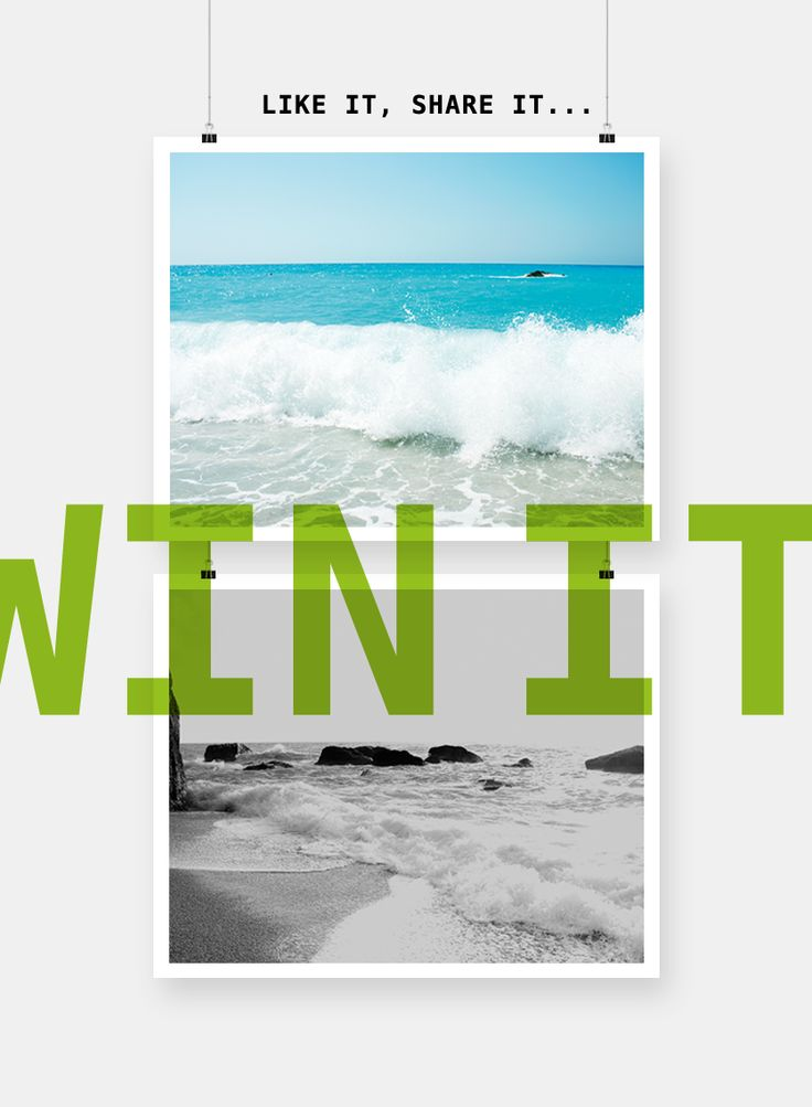 Join ourgiveaway and win two photographic posters (50 x 40 cm – ikea compatible)after a draw. Two lucky winners! All you have to do is to like this post and leave a comment bellow about you…