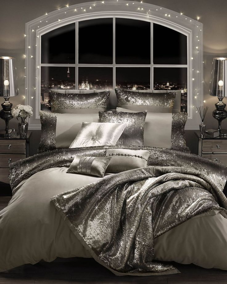 Bedroom Decorating Ideas Silver the 25+ best bling bedroom ideas on pinterest | quilted headboard