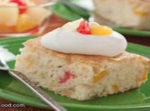 Fruit Cocktail Cake With Boxed Cake Mix