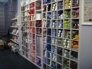 Boutique de laine et tissu lil weasel 1 passage du grand cerf 75002 Paris