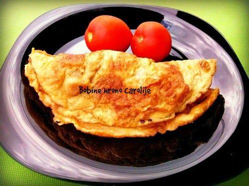 OMLET           potrebne namirnice :   dva jaja  malo soli  1 veća paprika  malo slanine ili šunka budžola..  pola male tikvice   nač...