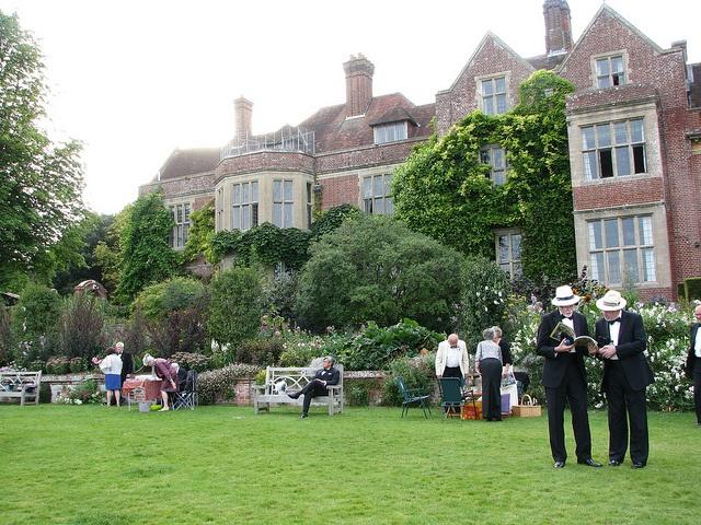 The Season: Glyndebourne Festival Opera, English opera festival held at Glyndebourne, nr. Lewes East Sussex.