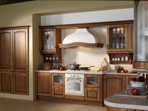 "Wall Range Hood 36"" Orchid Country Style Wood Hoods"
