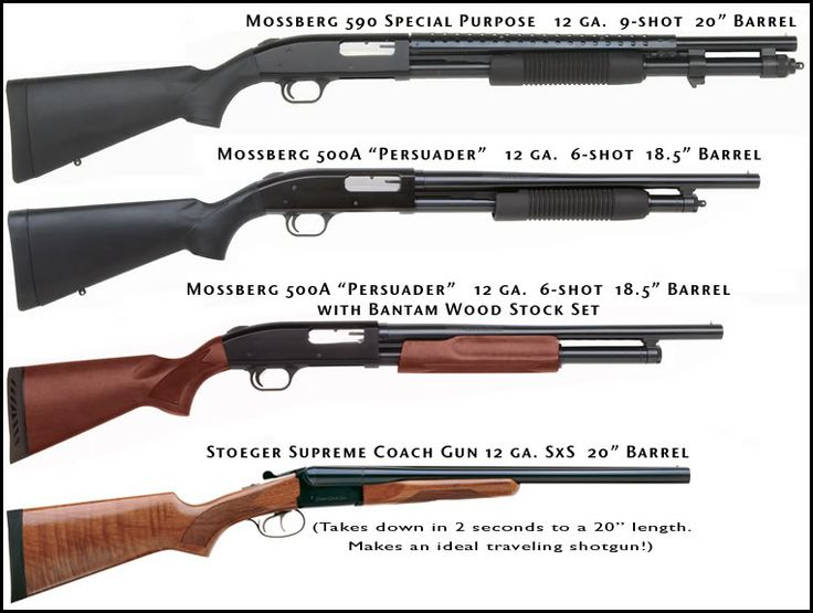 Mossberg 500 or Remington 870? - Page 3 - The Firing Line Forums
