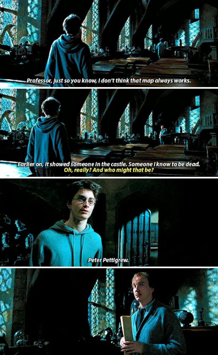 """Harry Potter an Remus Lupin - The map never lies…the """"oh shit"""" look on his face is priceless"""