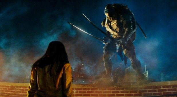 La película 'Tortugas ninja' encabeza la taquilla norteamericana.