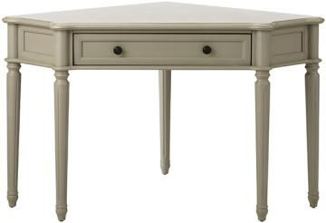 Martha Stewart Living Ingrid Corner Desk - Small Corner ...